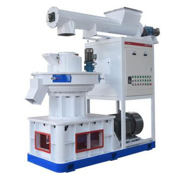 Flat Die Wood Pellet Making Machine / Industrial Wood Pellet Mill