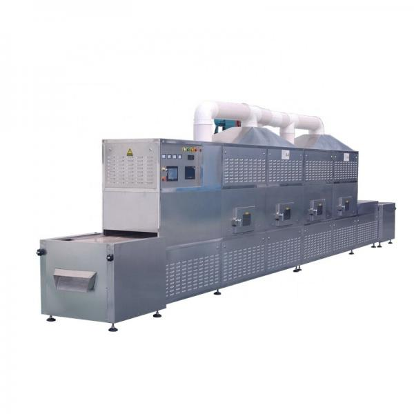 Tea Leaves Industrial Microwave Drying And Sterilization Machine PLC Control #2 image