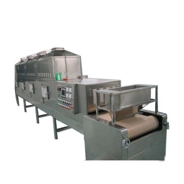 Condiment Microwave Drying Machine , Microwave Drying Equipment PLC Control #3 image