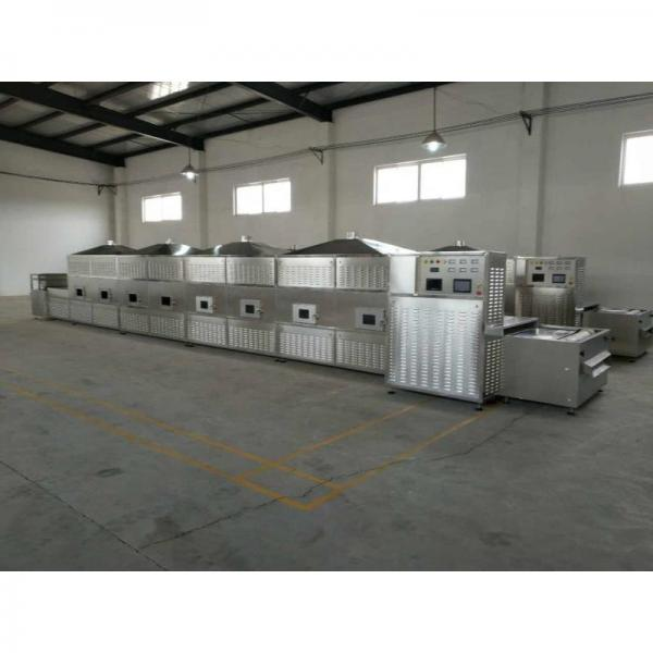 Tea Leaves Industrial Microwave Drying And Sterilization Machine PLC Control #3 image