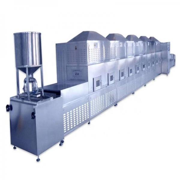 Tea Leaves Industrial Microwave Drying And Sterilization Machine PLC Control #1 image